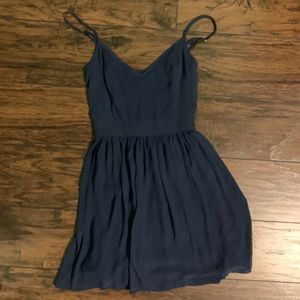 Abercrombie & Fitch Navy Blue Dress